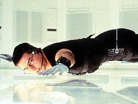 "Photo: Tom Cruise in ""Mission Impossible"""