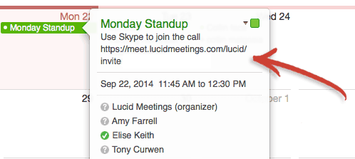 Anatomy of the perfect meeting invitation email includes templates location stopboris Choice Image