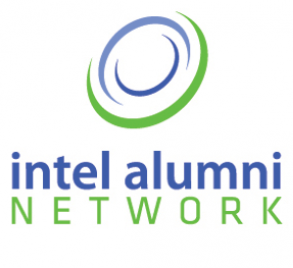 Logo for the Intel Alumni Network