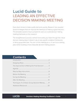 Monthly Anytime Decision Making Lucid Guide.png  Management Meeting Agenda Template