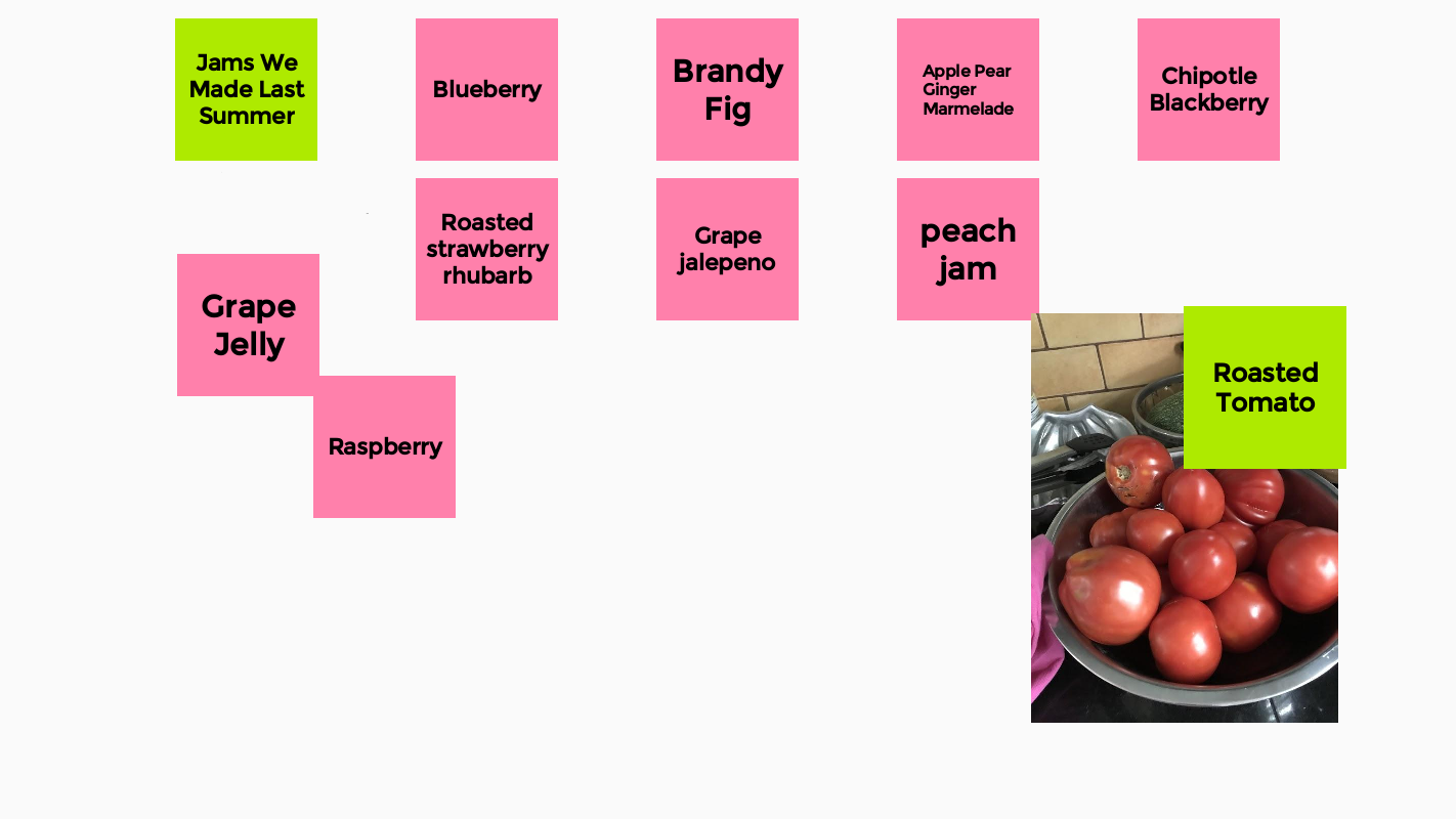 An excellent jamboard featurig delicious jam